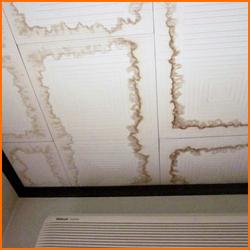 天井の水漏れ原因とその対処方法